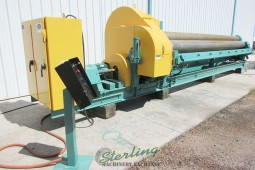 Used Bertsch Mechanical Initial Pinch Plate Roll