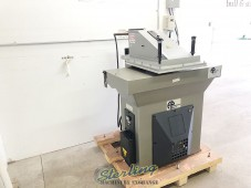 Used Like New APMC Hydraulic Clicker Press (Located In Oregon)