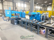 Used DoALL Dual Column, Dual Miter StructurALL Automatic Bandsaw (only 30 hours On it)