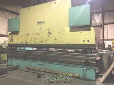Used Pullmax with Front Operated Power Back Gauge Press Brake