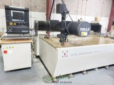 Omax CNC Waterjet Cutting Machine ONLY 139 HOURS