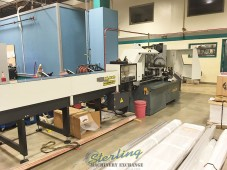 Used Hydmech Automatic CNC Vertical Column Cold Saw With 12' Automatic Bar Feed