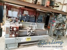 Used Sharp Geared Head Gap Bed Engine Lathe