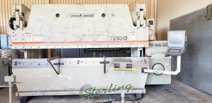 Used Accurpress Hydraulic CNC Press Brake (3 Axis CNC Control)(Includes CNC R-Axis)