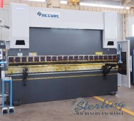 New AccurlUSA CNC Hydraulic Press Brake