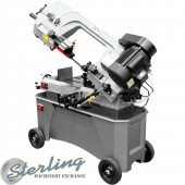 Brand New Jet Deluxe Horizontal/Vertical Bandsaw with Coolant System