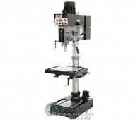 Brand New Jet EVS Drill Press with Forward & Reverse Tapping Capability