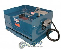 "Brand New Kalamazoo Wet Metallurgical Benchtop Belt Sander with 8"" Disc"