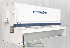 Brand New Comeq Primeline CNC Variable Rake Angle Hydraulic Guillotine Shears