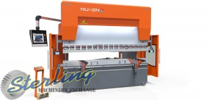 Brand New Nukon Genius 8 Axis CNC Hydraulic Press Brake