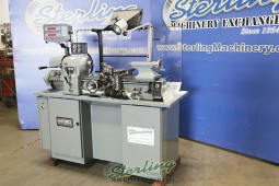 Used Hardinge Precision Tool Room Lathe With Inch & Metric Threading
