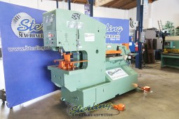 Used Piranha Hydraulic Dual Operational Ironworker