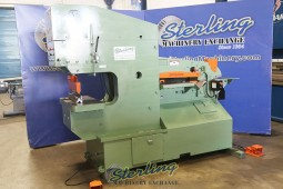 Used Piranha Hydraulic Ironworker (Dual Operated)