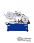"BRAND NEW ACRA SEMI-AUTOMATIC VARIABLE SPEED HORIZONTAL ""HEAVY DUTY"" BANDSAW,"