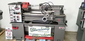 Brand New Jet Engine Lathe With Stand & Foot Brake