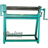Brand New Tin Knocker Manual Slip Roll Machine