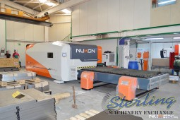 USED NUKON CNC FIBER LASER CUTTING MACHINE