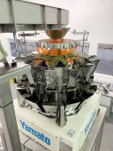 Used Yamato ADW-214SD Cannabis Combination Multi-Head Weigher Scale and Jar Filling Line/  Food Weigher Scale (LIKE NEW MACHINE, GREAT OPPORTUNITY TO SAVE THOUSANDS!