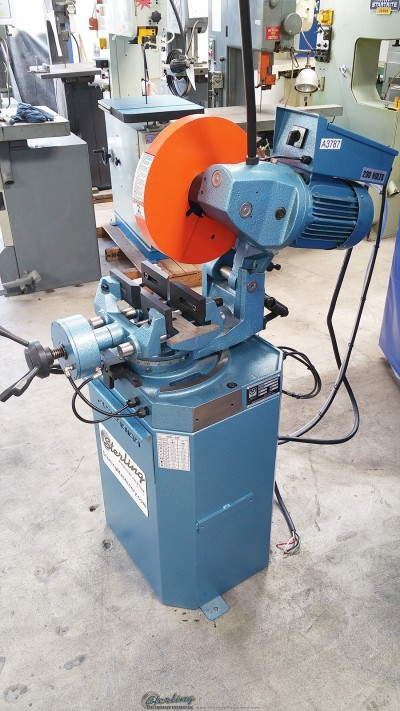 New Scotchman (LOW TURN, POWER CLAMPING AND MANUAL HEAD DOWN FEED) Circular Cold Saws (For Cutting Steel, Stainless, Aluminum, Brass, Copper, Plastics)
