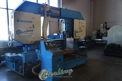 Used Vanguard Semi-Automatic Horizontal Bandsaw (HUGE CAPACITY)