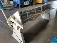 used baileigh straight leaf apron brake (excellent condition) HB-9612