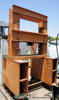 used custom h frame hydraulic press