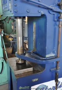used logan hydraulic press 6000 D-10