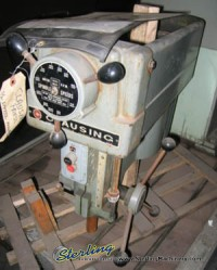 used  clausing drill press head 1668