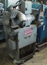 used setco double end grinder w/ built in dust collector SPL