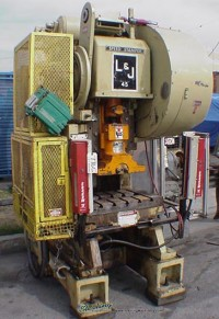 used l & j obi high speed press *sold as is, no warranty.  machine needs work* #45HS