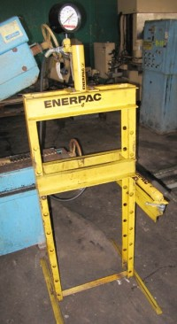 used enerpac hydraulic h-frame press 515010