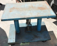 used herkules hydraulic lift table HT- 2000- 16