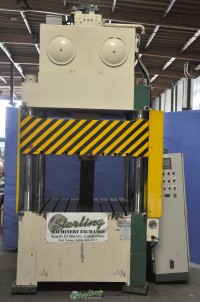 used sutherland dees 4 post hydraulic down acting press HP-100