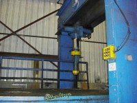 used dake hydraulic traveling h-frame straighting press
