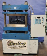 used tetrahedron 4 post air hydraulic press (up acting) MTP24