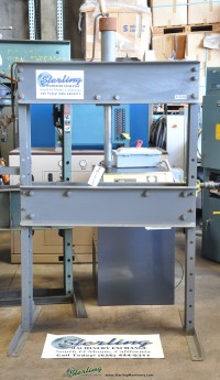custom h frame air over hydraulic press N/A