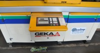 used geka single end cnc punching machine w/ fagor cnc control and paxy cnc plate positioning & punching system Puma 110/E-750