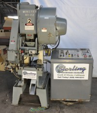 used minster high speed punch press B1-22