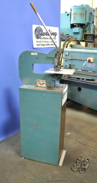 used roper whitney manual hand punch 218