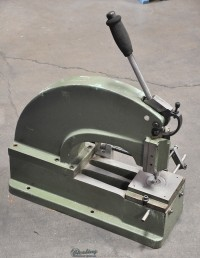 used di-acro manual c frame hand punch #2