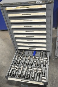 used stanley metal cabinet (tooling not included!)