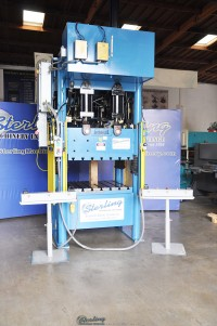 used beckwood hydraulic 4 post press 4P250F150P4042