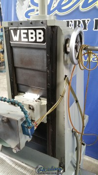 used webb heavy duty surface grinder 612