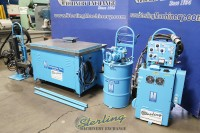used cammann portable metal tap disintegrator,  4 axis 360 degree rotation metal disintegrator  (like new condition) metal disintegrators are primarily used for tap removal, stud removal, drill removal and seized or broken bolts.