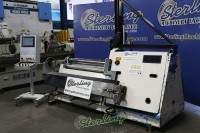 used davi hydraulic cnc 4 roll sheet metal plate roll with vertical support system MCB-1219/S