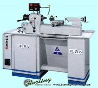 brand new acra second operation toolmakers lathe 27ATL