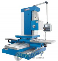 brand new knuth horizontal drilling and milling horizontal table type boring machine BO 130 CNC