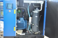 brand new quincy rotary screw air compressor with sound enclosure QGS-75