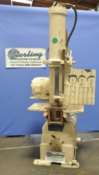 used greenerd hydraulic arbor press H-60-AD