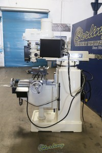 used chevalier 3 axis cnc or manual use vertical mill FM-32HP